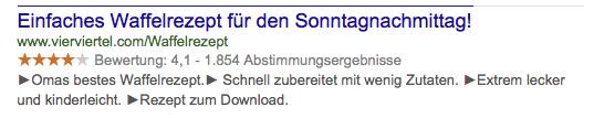 SERP_Screenshot_Waffelrezept