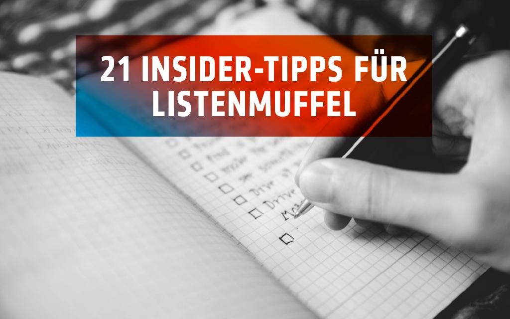 21 Insider-Tipps für Deine effiziente Messeplanung