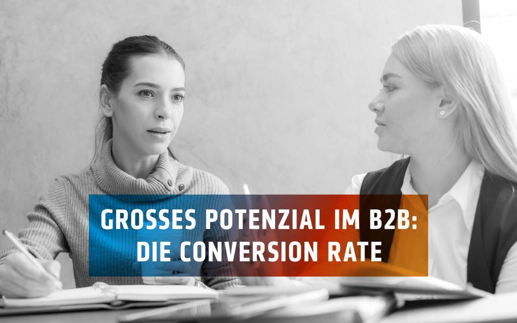 Wie nützlich ist die Conversion Rate für Ihre B2B-Website?